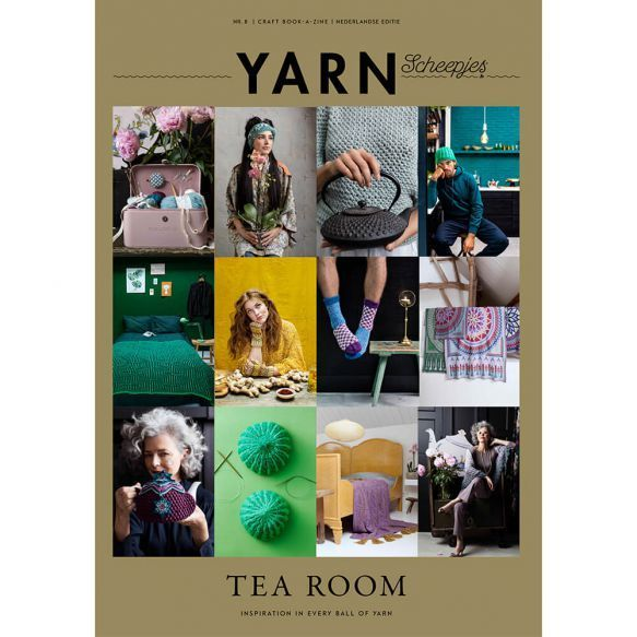 Scheepjes YARN Bookazine 8- TeaRoom in ENGLISCH